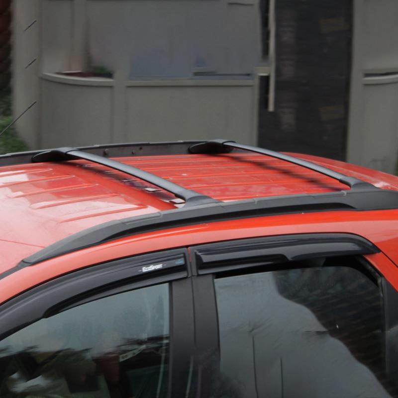 LARATH высокое качество автомобилей Аксессуары для авто Багажник на крышу стойки багажника для автомобиля Ford DH0189