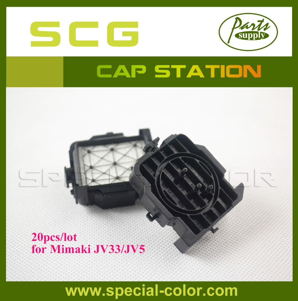 Factory Direct Mimaki DX5 Solvent Print Head Capping Station for JV33/JV5 Cap Top (20pcs/pack)