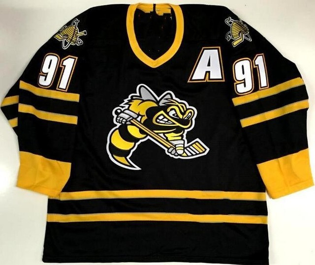innovative design 717ed b9597 SARNIA STING #91 STEVEN STAMKOS Hockey Jersey Embroidery Stitched Customize  any number and name Jerseys-in Hockey Jerseys from Sports & Entertainment  ...