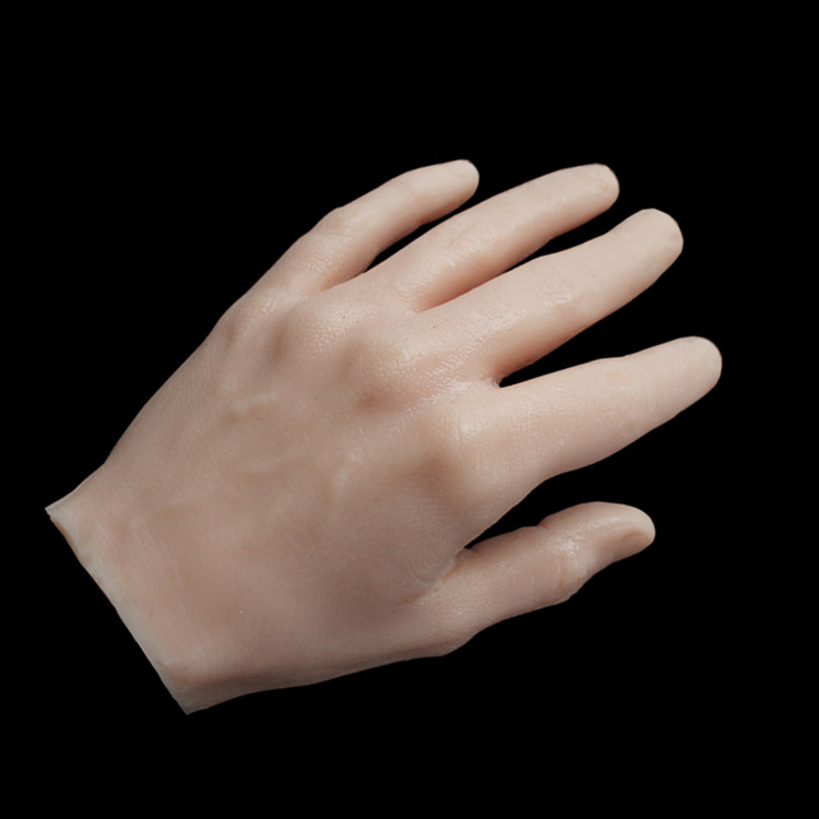 1 шт. мягкая практичная ручная модель 3D силиконовый гибкий 1:1 манекен для взрослых искусственная кожа для рук салон тату Нейл арт тренировоч