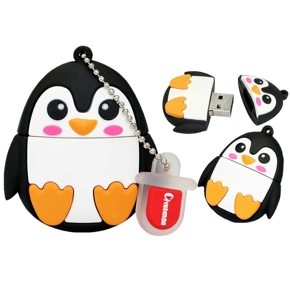 Новое поступление, USB флеш-накопитель, 128 ГБ, ручка-накопитель, 4 ГБ, 8 ГБ, 16 ГБ, 32 ГБ, 64 ГБ, USB флеш-накопитель, Мини милая сова/робот, карта памяти, u-диск