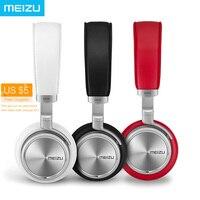 원래 meizu hd50 하이파이 스테레오 음악 헤드셋 알루미늄 합금 쉘 낮은 왜곡 헤드폰 마이크 iphone samsung lg