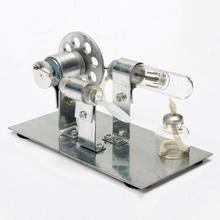 New Arrival Mini Hot Stirling Engine Motor Model Science   Discovery