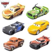 דיסני פיקסאר מכוניות 3 2 מתכת Diecast רכב צעצוע שחור סערת ג קסון ברק מקווין משאית דגם ילדי מכונית צעצועי חג המולד מתנה