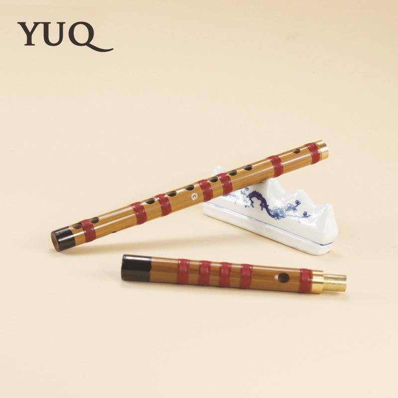 YUQUE 대나무 피리 초급 목 관악기 악기 C D E F G 주요 중국어 횡단 Flauta Xiao