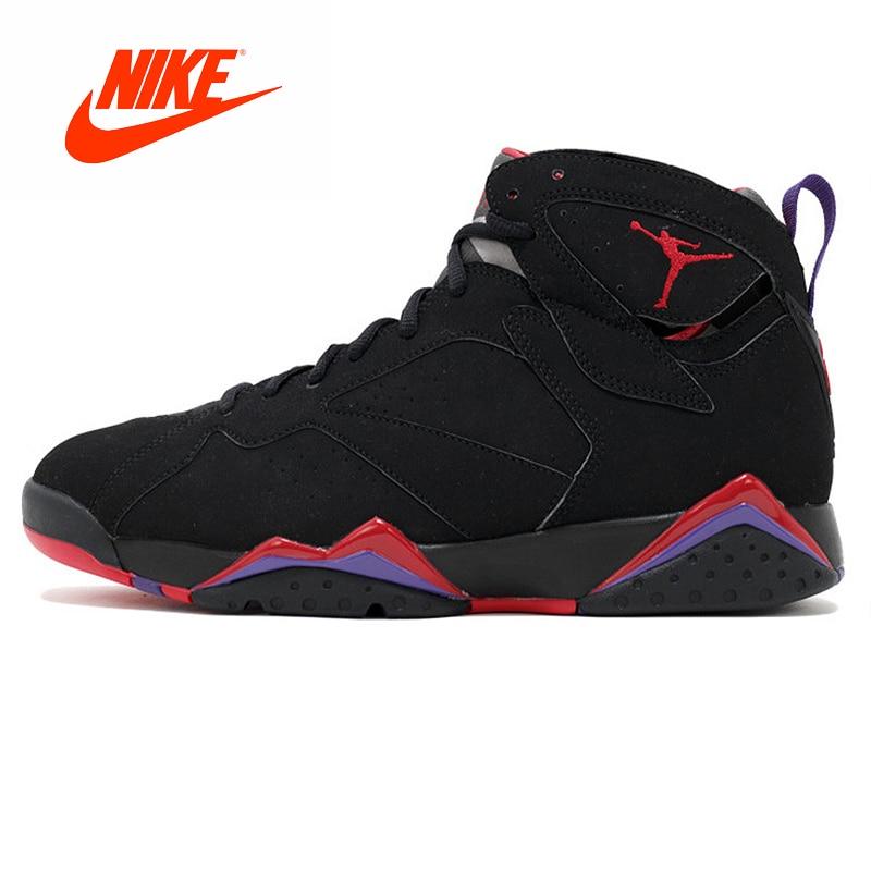 Original New Arrival Authentic NIKE Air Jordan 7 Retro Raptor Men's Basketball Shoes Sneakers Outdoor Comfortable Shoes nike nike air jordan 1 mid original girl kids basketball shoes children causal skateboarding sneakers