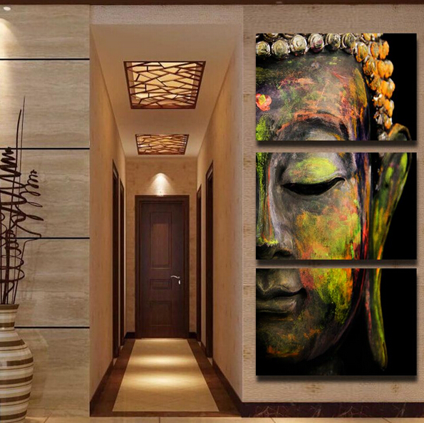 Big Sale Buddha Oil Painting Wall Art Picture Paiting Canvas Paints Home  Decor HD Print Painting