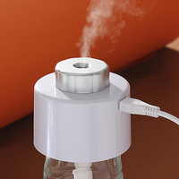 New Mini Air Humidifier Freshener USB Charging Portable Bottle Steam Air Mist Discharge Office Home Room Car Free&Drop