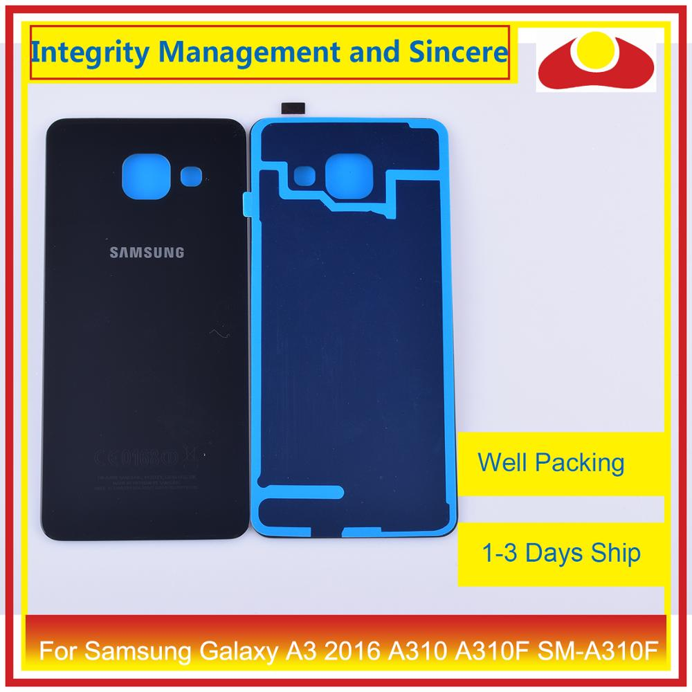 Image 4 - 50Pcs/lot For Samsung Galaxy A3 2016 A310 A310F SM A310F A310H Housing Battery Door Rear Back Cover Case Chassis Shell-in Mobile Phone Housings & Frames from Cellphones & Telecommunications