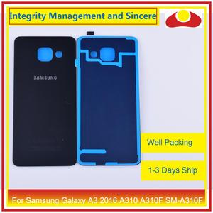 Image 4 - Original For Samsung Galaxy A3 2016 A310 A310F SM A310F A310H Housing Battery Door Rear Back Cover Case Chassis Shell