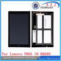 "New 10"" inch Digitizer + LCD b101uan01.E montaje para for Lenovo YOGA 10 B8080 HD + LCD Display Digitizer Assembly Free shipping"