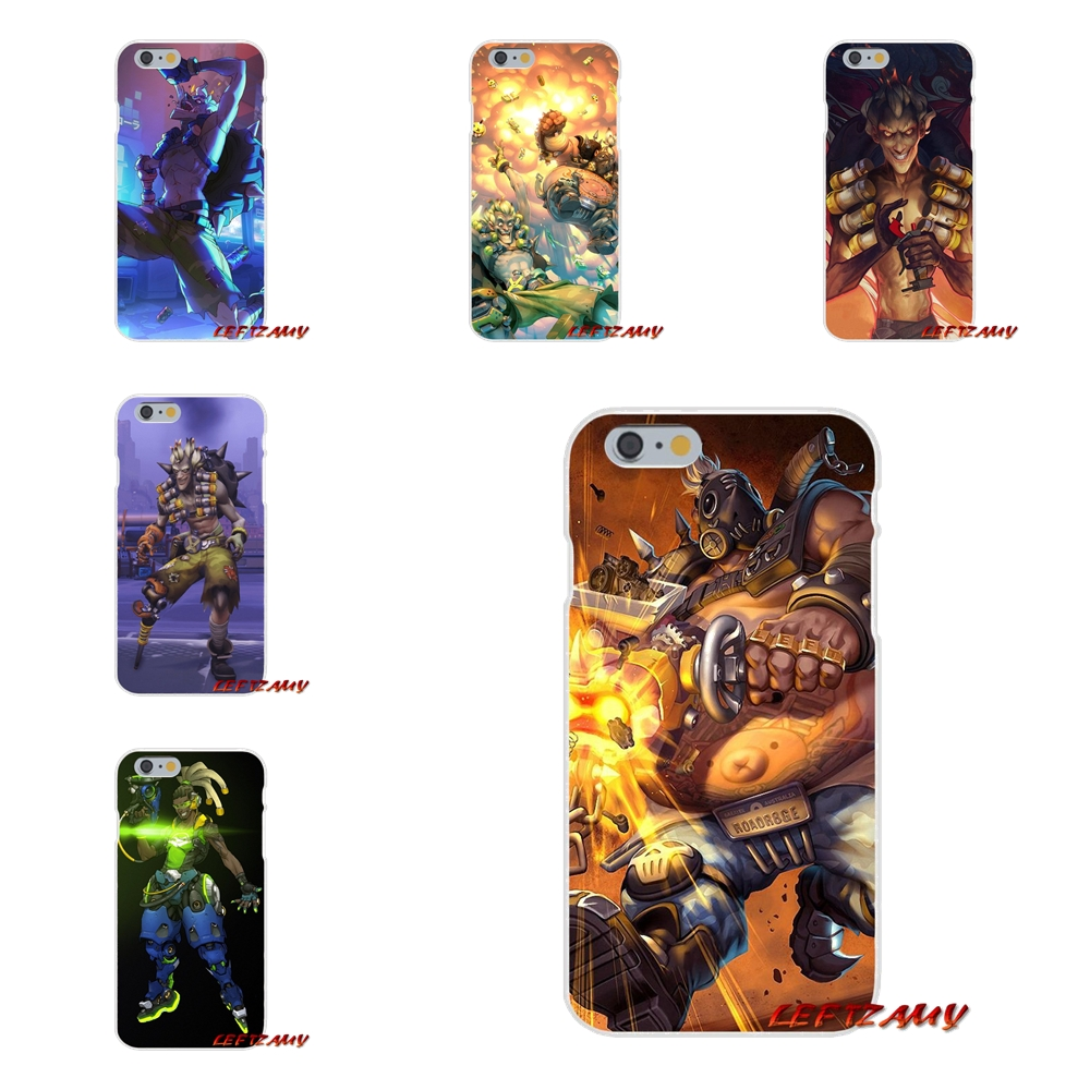 For Motorola Moto G LG Spirit G2 G3 Mini G4 G5 K4 K7 K8 K10 V10 V20 V30 game Overwatch OW Character lucio Accessories Skin Cover