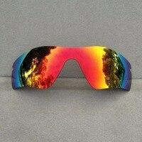 Оранжевый, красный зеркальные Замена линзы для Радар Путь очки рама 100% UVA и UVB антибликовое