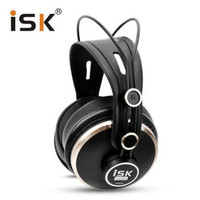 Luxurious Comfortable ISK HD9999 Fully Enclosed Monitor Headset Earphone For DJ Audio Mixing Recording Studio Monitoring