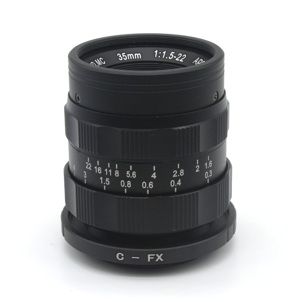 ФОТО Mirroless for APS-C Camera 35mm f/1.6 33mm f1.6 with C-FX adapter ring for Fujifilm X-E2 / X-E1 / X-Pro1 / X-M1 / X-A2 / X-A1