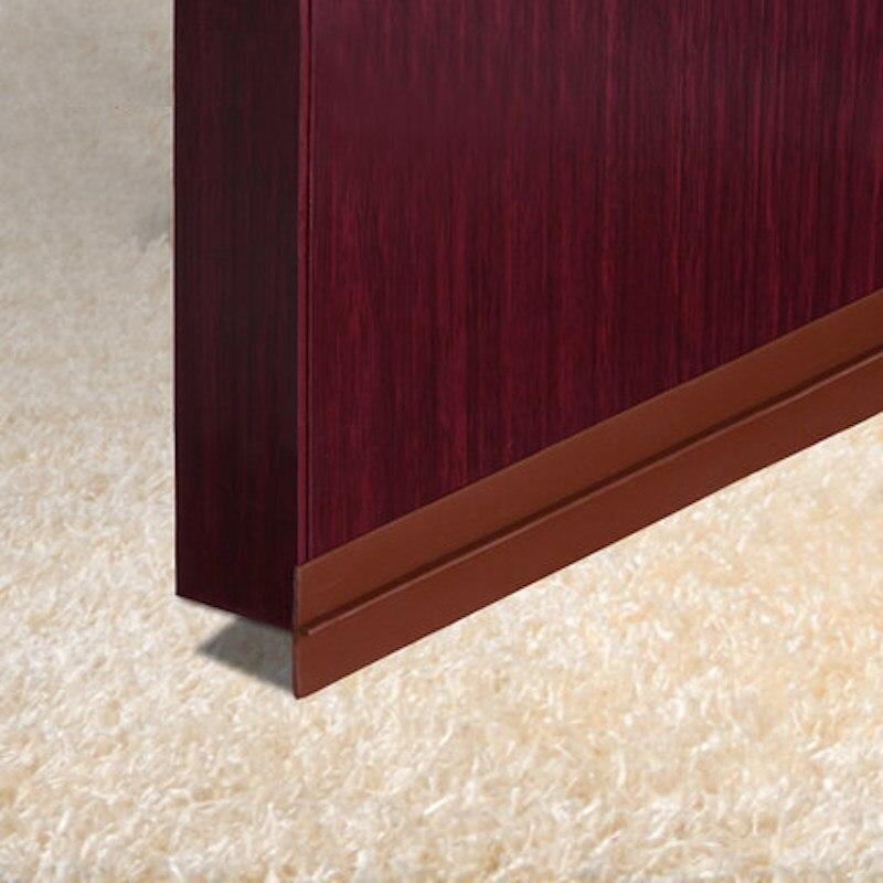 Door Bottom Threshold Seals Draft Stopper Silicone Sealing Strip 0-28mm Gap 3M Adhesive 25mm & Popular Bottom Door Seal-Buy Cheap Bottom Door Seal lots from ... Pezcame.Com