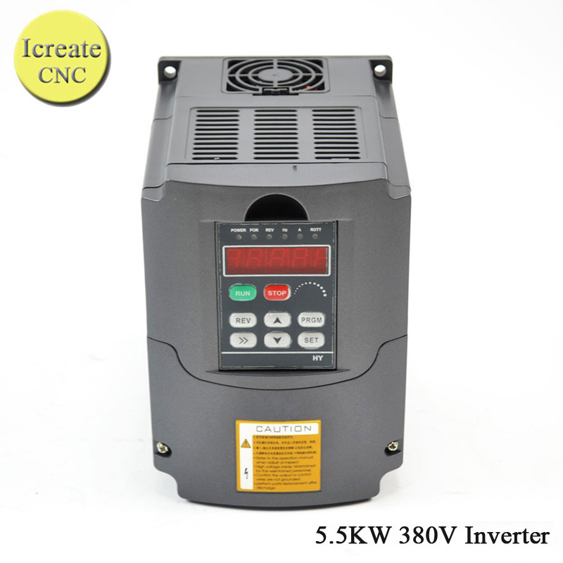 Free Shipping 380V / 5.5KW HY Inverter Frequency Drive Inverter 3 phase CNC Inverter VFD 3 phase 5500W Huanyang Inverter teco drive inverter n310 4008 s3x 7 5hp 5500w 3 phase 380v 480v hot selling