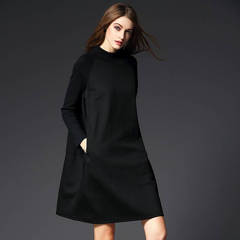 Online Get Cheap Black Winter Dresses -Aliexpress.com - Alibaba Group