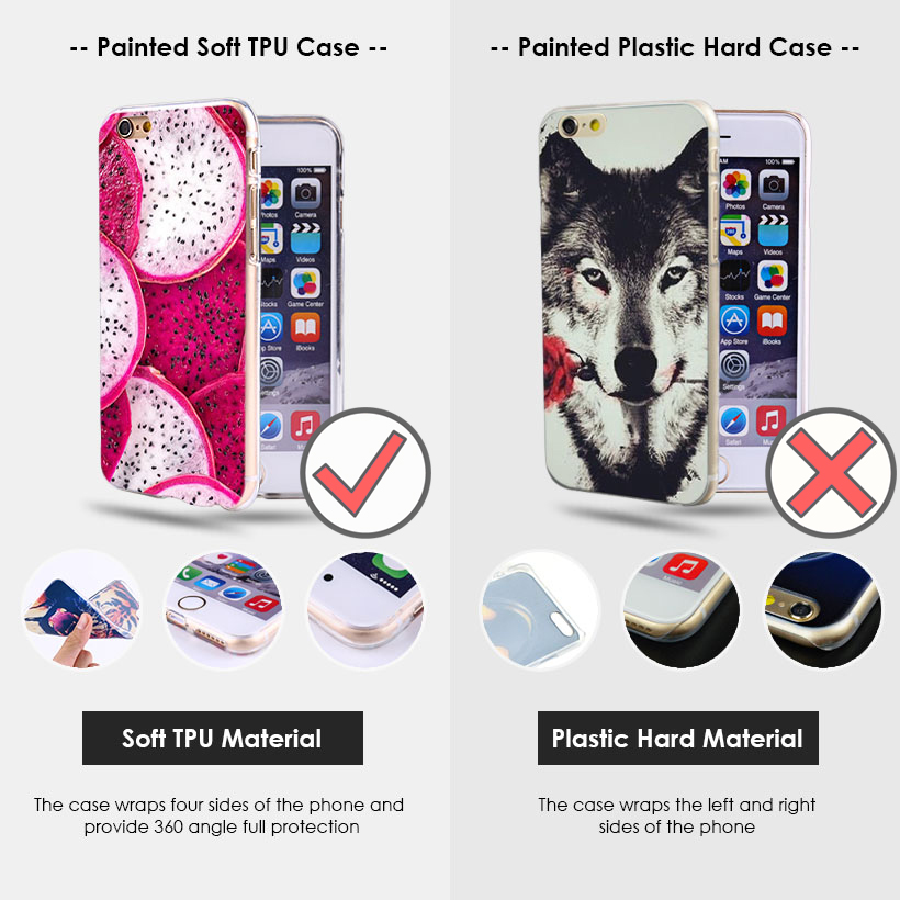 AKABEILA DIY Painted Silicon Cases for iPhone 11/11 Pro/11 Pro Max 17