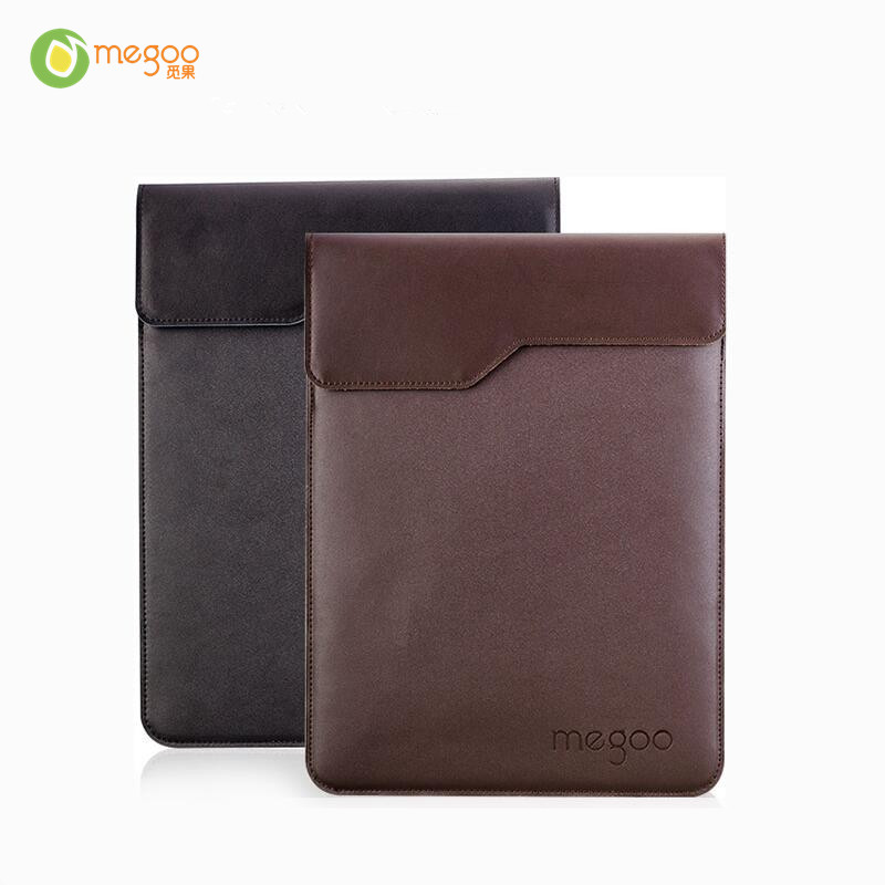 Megoo 12.5 Genuine Leather Case Sleeve Cover For Surface Pro 4/New Surface Pro 12.3/For Xiaomi Air 12.5/For Huawei MateBook X megoo surface pro 4 case sleeve bag cover with handle pocket briefcase for xiaomi air 12 5 microsoft new pro4 3 5 12 3