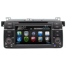 7″ HD Touch Screen Car DVD Player GPS Navigation for BMW E46 3 Series M3 GPS Bluetooth Radio USB IPOD Steering wheel control