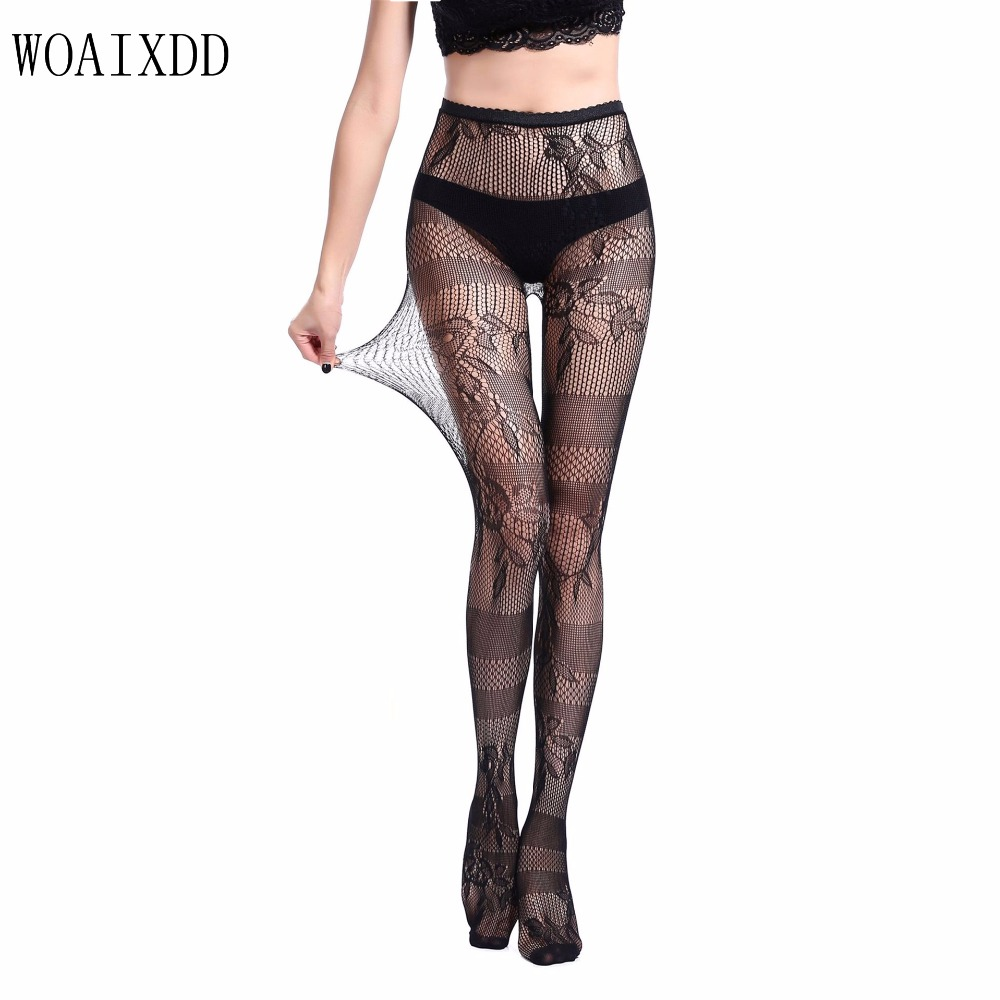 Women delight Open Crotch tights Color lady Sexy Nylon Pantyhose stockings Woaixdd club party female Ultrathin Hosiery langsha