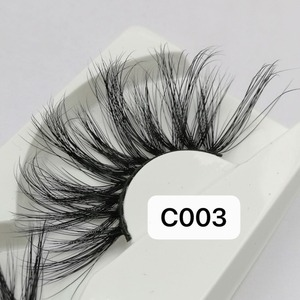 Image 3 - NEW Length 30mm Mink Eyelashes False Eyelashes Crisscross Natural Fake lashes Makeup 3D Mink Lashes Extension Eyelash Beauty