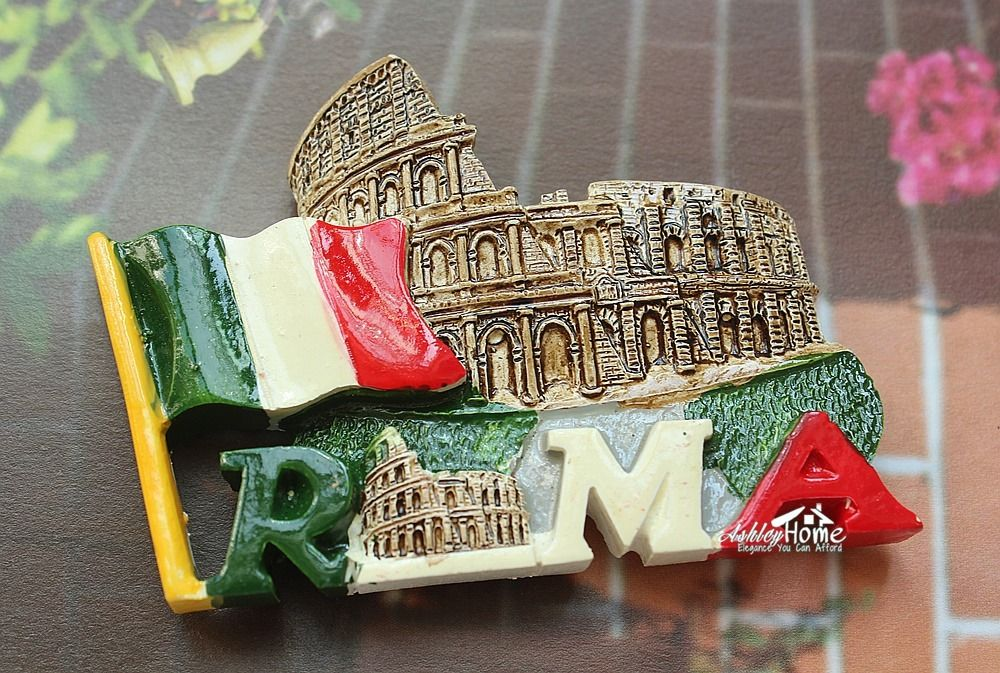 Italy Roma Colosseum Colosseo Tourist Travel Souvenir 3D Resin Fridge Magnet Craft GIFT IDEA