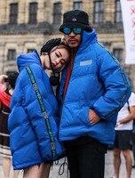 2018 new arrival man's winter fashion duck down coat lover couple's warm parka jacket blue plus large big size 4xl 5xl xxxxxl
