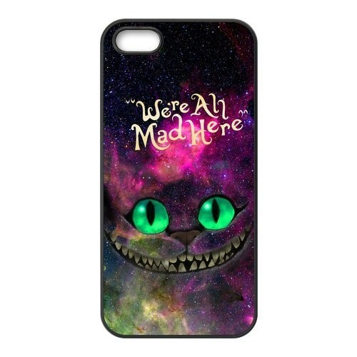 Alice in Wonderland Cat Hard Phone Cover
