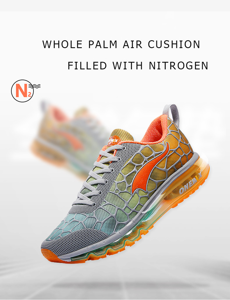 Onemix Men's Running Shoes Breathable Zapatillas Hombre Outdoor Sport Sneakers Lightweigh Walking Shoes Plus Size 39-47 Sneakers 6