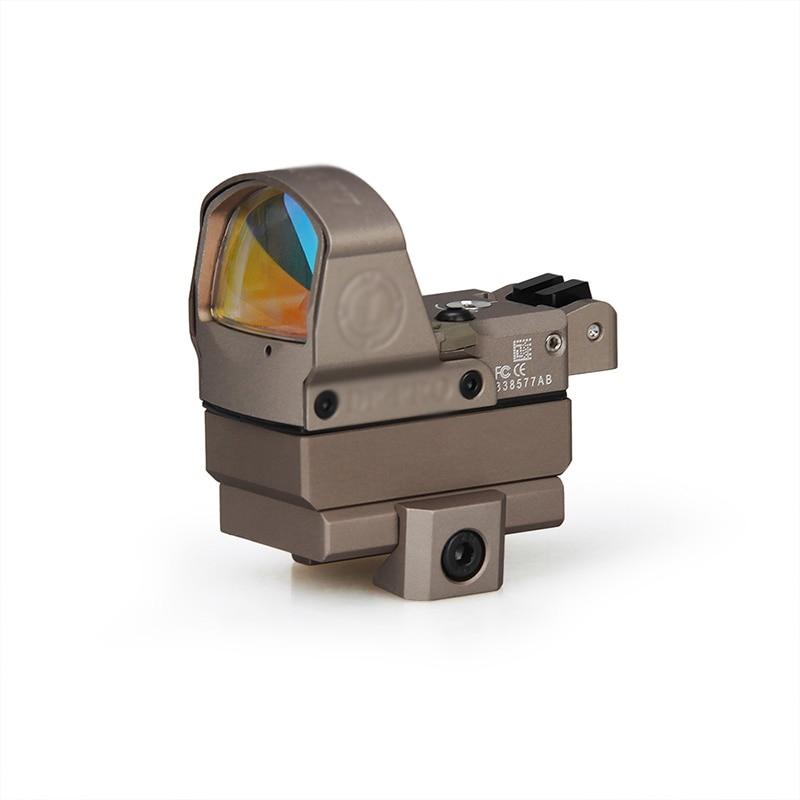 Viseur holographique de point de réflexe de vitesse tactique DP-Pro viseur rouge de point avec les 1911 1913 et les portées de fusils à Air de chasse de bâti de Glock