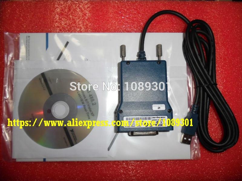 NI GPIB USB HS IEEE488 778927 01 interface GPIB USB HS GPIB cable new origianl goods