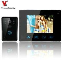 YobangSecurity Video Door Intercom Entry System 2.4G 9″ TFT Wireless Video Door Phone Doorbell Home Security 1 Camera 1 Monitor