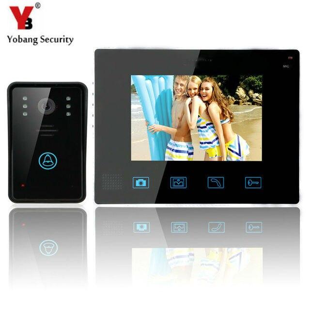 Yobangsecurity Video Door Intercom Entry System 24g 9 Tft Wireless