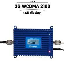 Impulsionador de sinal móvel display lcd controle inteligente 3g 2100mhz 3g wcdma umts 2100mhz repetidor celular #20