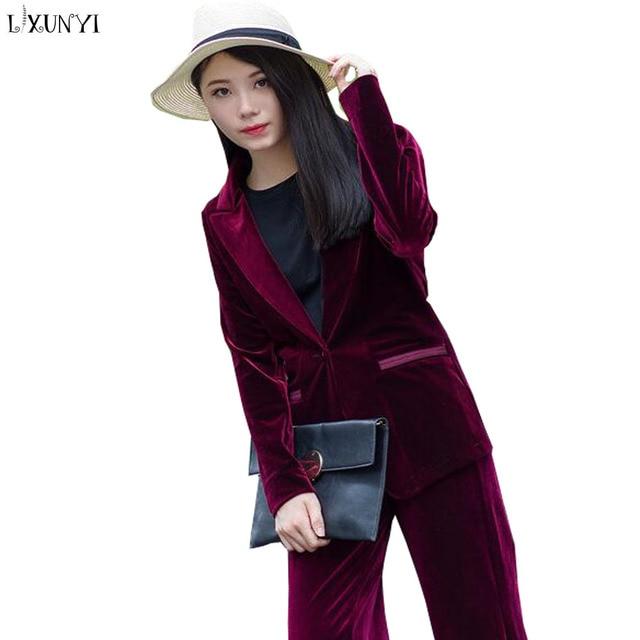 Manteau velours bleu femme