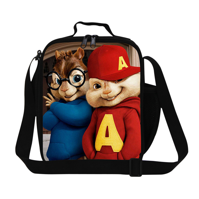 Cartoon Girls Lunch Bags Carry Storage Picnic Bag Pouch lunch bag