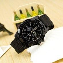 2017 New Fashion sports men watches military business outdoor watch men nylon belt quartz watches Hot clock Relogio Masculino