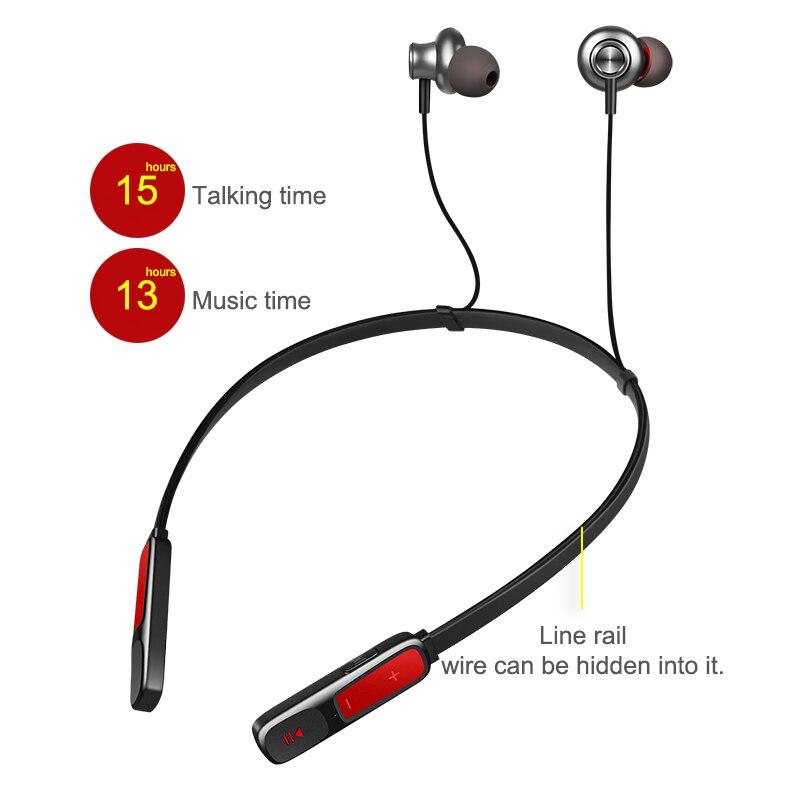 WXYY D'origine magnétique sans fil bluetooth écouteurs casque sans fil bluetooth 4.2 casque avec mic basses Profondes pour xiaomi Iphone