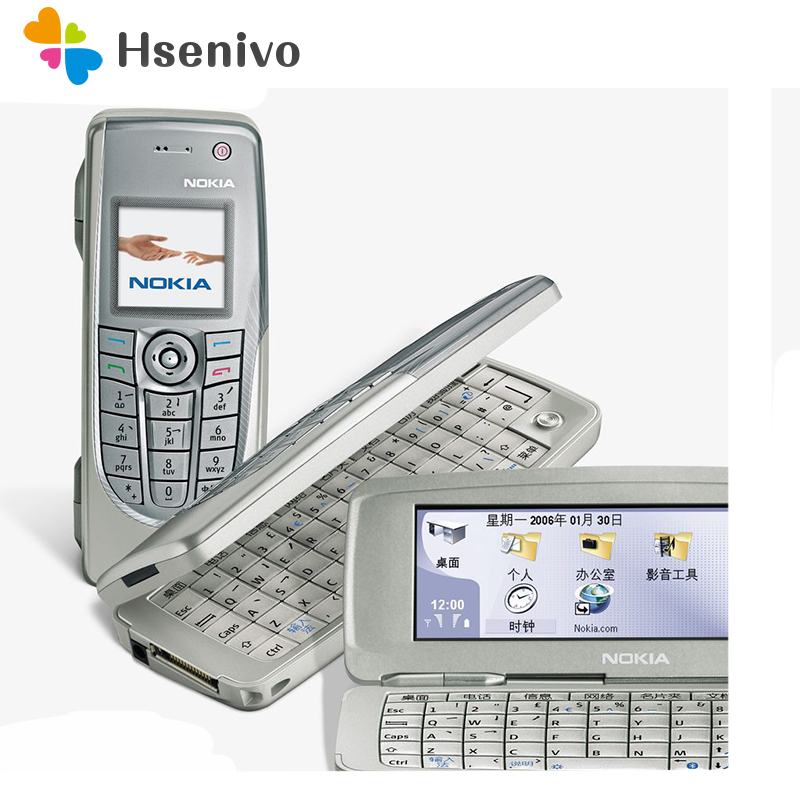 Hot Sale Collected Phone Original Unlocked Nokia 9300 Flip GSM Mobile Phone Symbian 7.0s With Multi-language Free Shipping