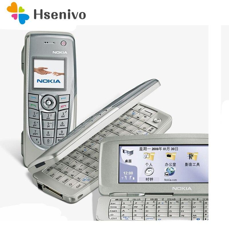 Offre spéciale recueilli téléphone Original débloqué Nokia 9300 Flip GSM téléphone Mobile Symbian 7.0 s avec multi-langue livraison gratuite