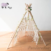 Newborn Photography Props Tent Basket Infant Baby Girl Photo Shoot Studio Posing Basket Prop Accessories foto Shooting Sessions