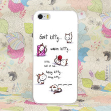 """""""Soft Kitty, Warm Kitty…"""" song iPhone case"""