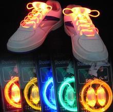 Light up мода светодиодный светящиеся шнурки Flash вечерние светящиеся шнурки для мальчиков и девочек Горячая Распродажа
