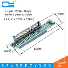 цена на 44 pin 2.5'' IDE HDD SSD Laptop Hard Drive Female to 7+15 pin 22 Pin 2.5