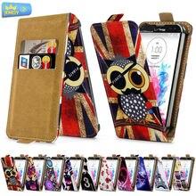 Phone Leather Case Для Lg L50 d221/L60 x145/L65 d285 Case Cover, печатные Универсальный Стенд Flip Case Для Lg Телефон Небольшого размера