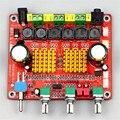 """2.1 Alta-potência produto placa amplificador digital classe D 3 faixa """"mega bass HIFI qualidade de som, Dar três botão (cor aleatória)"""