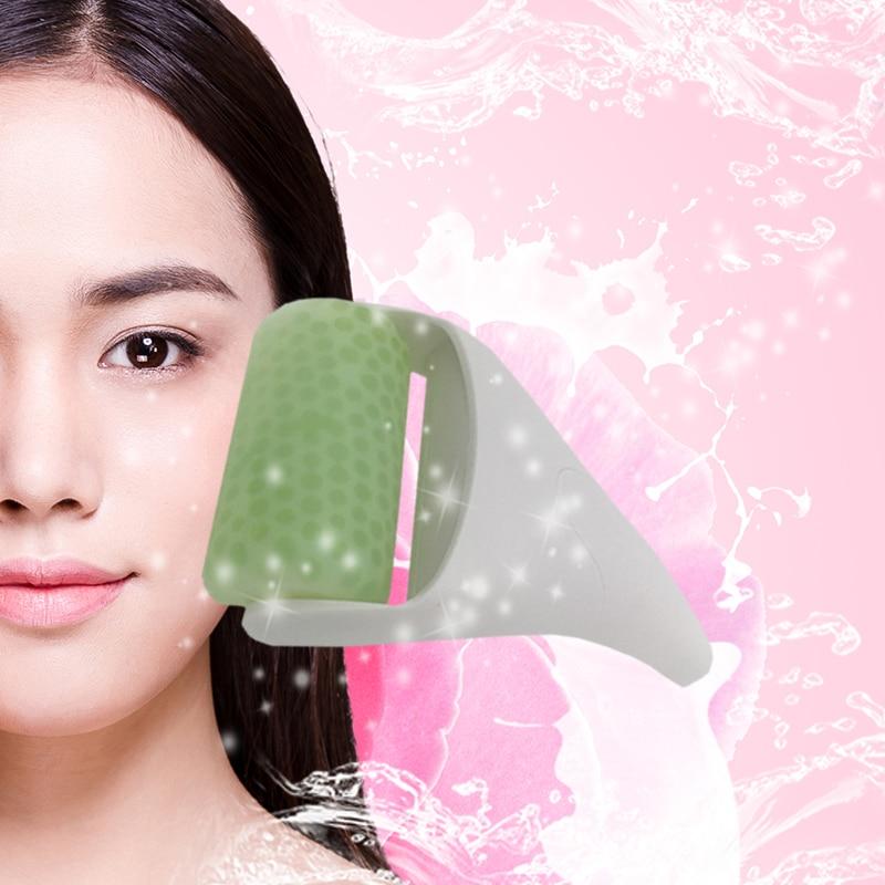 Beauty Ice Roller Skin Cool Derma Roller Massager for Face Body Massage Facial Skin Care Preventing Wrinkle Dermaroller Massage skin care tools face massage roller spoon shaped japan beauty roller