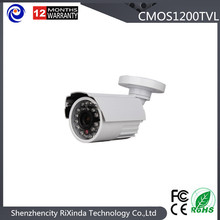 Free Shipping Small Anolog Metal Bullet Security Camera HD 1200TVL 24LEDs IR-CUT Switch Cctv Camera
